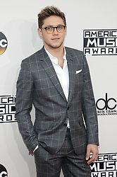 Niall Horan at the 2016 American Music Awards held at the Microsoft Theater in Los Angeles, USA on November 20, 2016.