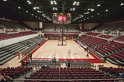 November 18, 2010; Stanford, CA, USA;  before the game at Maples Pavilion.  Stanford defeated Virginia 81-60.
