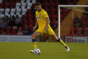 AFC Wimbledon defender Ryan Sweeney (20) in action during the Pre-Season Friendly match between Woking and AFC Wimbledon at the Kingfield Stadium, Woking, United Kingdom on 29 July 2016. Photo by Stuart Butcher.