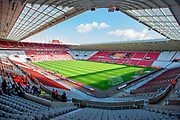 General view inside the Stadium Of Light, Sunderland, England before the EFL Sky Bet League 1 match between Sunderland AFC and Portsmouth FC at the on 17 August 2019.