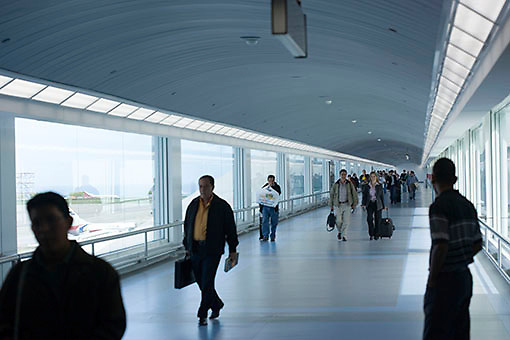 Terminal de pasajeros Aeropuerto Internacional de Maiquetia Simón Bolivar, Estado Vargas, Venezuela