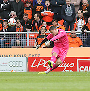Dundee goalkeeper Kyle Letheren - Dundee United v Dundee at Tannadice Park in the SPFL Premiership<br /> <br />  - © David Young - www.davidyoungphoto.co.uk - email: davidyoungphoto@gmail.com