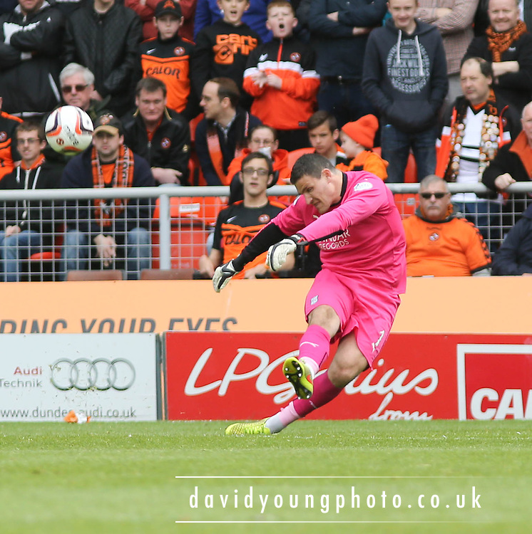 Dundee goalkeeper Kyle Letheren - Dundee United v Dundee at Tannadice Park in the SPFL Premiership<br /> <br />  - &copy; David Young - www.davidyoungphoto.co.uk - email: davidyoungphoto@gmail.com