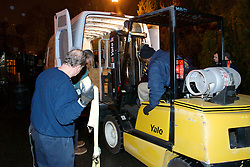Behind the scenes of the arrival of 'Mighty Mike', an 800lbs alligator, at the Adventure Aquarium in Camden, NJ.