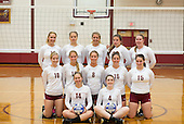 Vollyball team and head shots