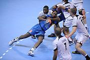 DESCRIZIONE : France Hand D1 Championnat de France D1 a Toulouse<br /> GIOCATORE : Damien KABENGELE<br /> SQUADRA : Toulouse<br /> EVENTO : FRANCE Hand D1<br /> GARA : Toulouse Paris<br /> DATA : 19/10/2011<br /> CATEGORIA : Hand D1 <br /> SPORT : Handball<br /> AUTORE : JF Molliere <br /> Galleria : France Hand 2011-2012 Action<br /> Fotonotizia : France Hand D1 Championnat de France D1 a Paris <br /> Predefinita :
