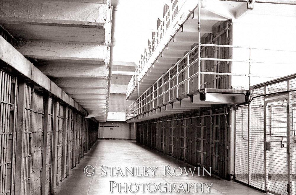 Alcatraz Prison Cell Block, Interior photo
