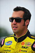 17-18 August, 2012, Montreal, Quebec, Canada.Sam Hornish Jr..(c)2012, Jamey Price.LAT Photo USA.