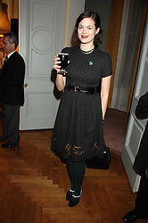 JASMINE GUINNESS at a party to celebrate the publication of 'Arthur's Road' a biography of Arthur Guinness written by Patrick Guinness held at the Irish Embassy, London on 6th March 2008.<br /><br />NON EXCLUSIVE - WORLD RIGHTS