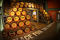 The Guinness Storehouse in Dublin, Ireland