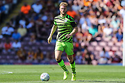 Forest Green Rovers Matt Mills(5) runs forward during the EFL Sky Bet League 2 match between Bradford City and Forest Green Rovers at the Utilita Energy Stadium, Bradford, England on 24 August 2019.