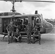 Photographs of the 25th Aviation Battalion which served the 25th Infantry (Tropic Lightning) during the Vietnam War.