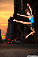 Manhattanhenge New York City- Dance As Art Photography Project featuring dancer, Ashtyn Muzio!