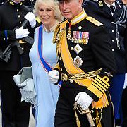 NLD/Amsterdam/20130430 - Inhuldiging Koning Willem - Alexander, prince Charles and partner Camilla Parker Bowles