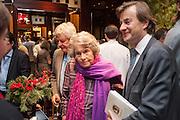 COUNTESS MOUNTBATTEN OF BURMA; TIMOTHY KNATCHBULL , Book launch for ' Daughter of Empire - Life as a Mountbatten' by Lady Pamela Hicks. Ralph Lauren, 1 New Bond St. London. 12 November 2012.