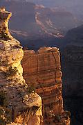 Sunlit cliffs, Grand Canyon National Park, Arizona