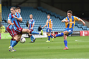 Ian Black of Shrewsbury Town during the Sky Bet League 1 match between Scunthorpe United and Shrewsbury Town at Glanford Park, Scunthorpe, England on 17 October 2015. Photo by Ian Lyall.
