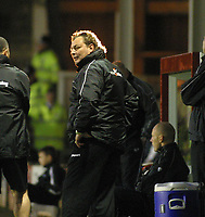 Photo: Dave Linney.<br />Walsall v Notts County. Coca Cola League 2. 25/11/2006.<br />Steve Thompson Notts County Mgr