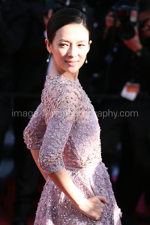 Zhang Ziyi at Venus in Fur - La Venus A La Fourrure film gala screening at the Cannes Film Festival Saturday 26th May May 2013