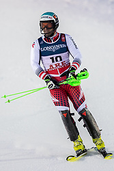 11.02.2019, Aare, SWE, FIS Weltmeisterschaften Ski Alpin, alpine Kombination, Herren, Slalom, im Bild Vincent Kriechmayr (AUT) // Vincent Kriechmayr of Austria reacts after the Slalom competition of the men's alpine combination for the FIS Ski World Championships 2019. Aare, Sweden on 2019/02/11. EXPA Pictures © 2019, PhotoCredit: EXPA/ Dominik Angerer