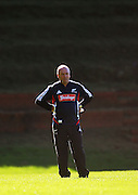 All Blacks coach Graham Henry.<br /> All Blacks Training Session at Rugby League Park, Newtown, Wellington. Monday 21 July 2008. Photo: Dave Lintott/PHOTOSPORT