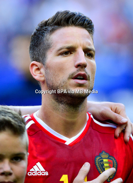 Uefa Euro FRANCE 2016 - <br /> Belgium National Team - <br /> Dries Mertens