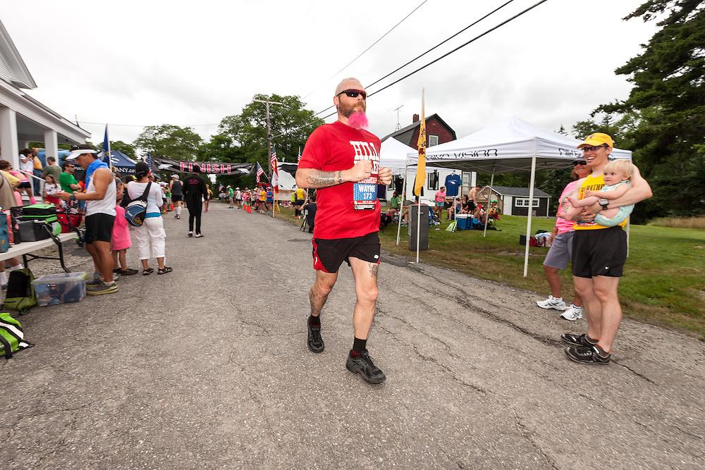 Great Cranberry Island Ultra 50K road race: Wayne Sherman