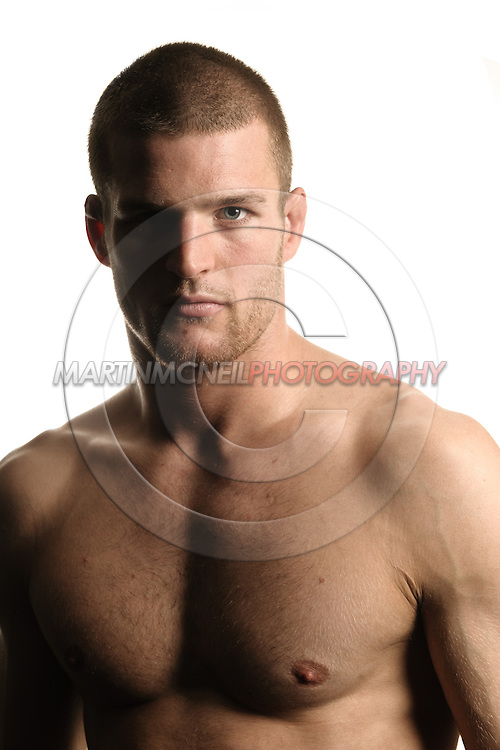 A portrait of mixed martial arts athlete Pascal Krauss