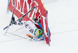 DOPFER Fritz of Germany felt during the 2nd Run of 7th Men's Giant Slalom - Pokal Vitranc 2013 of FIS Alpine Ski World Cup 2012/2013, on March 9, 2013 in Vitranc, Kranjska Gora, Slovenia. (Photo By Vid Ponikvar / Sportida.com)
