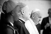 """Vatican City may 28th 2016, pope meets the """" Children's train """". In the picture pope Francis"""
