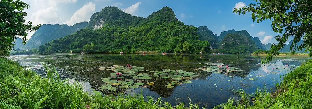 Vietnam Images-Phong cảnh ninh bình-panoramic landscape