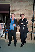 JULIAN BANNERMAN; FRANCESCO BOGLIONE;, Early launch of Rupert's. Robin Birley  new premises in Shepherd Market. 6 Hertford St. London. 10 June 2010. .-DO NOT ARCHIVE-© Copyright Photograph by Dafydd Jones. 248 Clapham Rd. London SW9 0PZ. Tel 0207 820 0771. www.dafjones.com.