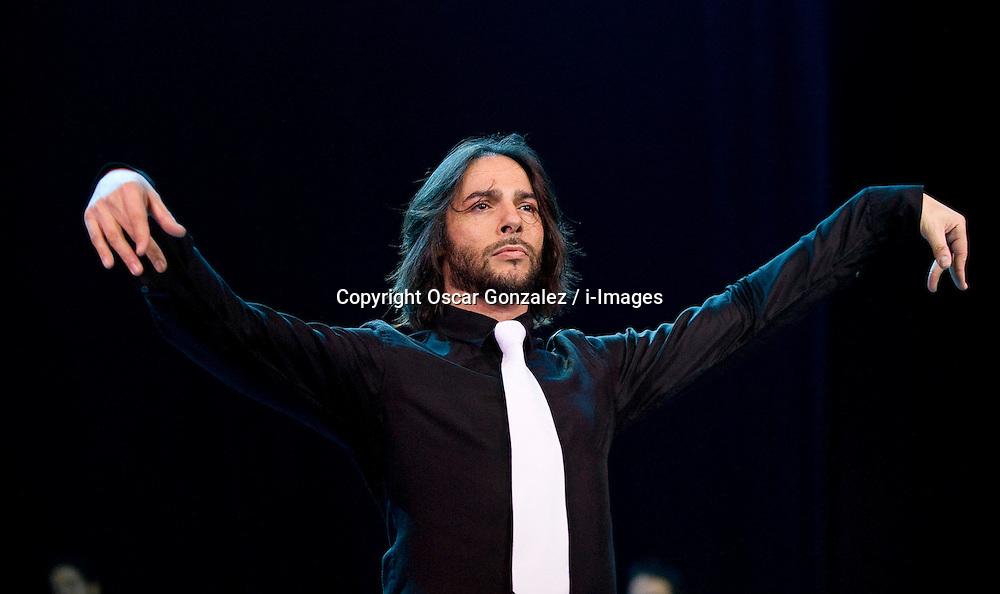 The dancer JoaquÌn CortÈs presents his new show 'Say Me' at the Teatro CalderÛn, Madrid, Spain, December 11, 2012. Photo by Oscar Gonzalez / i-Images...SPAIN OUT