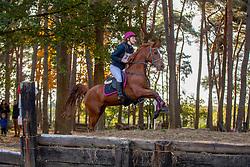Dujardin Lotte, BEL, Lucy Brown<br /> LRV Ponie cross - Zoersel 2018<br /> © Hippo Foto - Dirk Caremans<br /> 28/10/2018