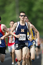Hamilton, Ontario ---07/06/08--- Andrew Kawolsky of Vincent Massey in Windsor competes in the 3000 meters at the 2008 OFSAA Track and Field meet in Hamilton, Ontario..GEOFF ROBINS