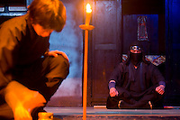 Ninjas perform on stage at this theme park devoted to Edo period Japan.