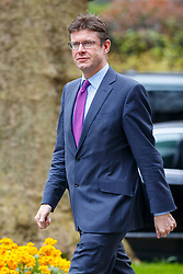 © Licensed to London News Pictures. 29/03/2017. London, UK. Business Secretary GREG CLARK attends a cabinet meeting in Downing Street, London on Wednesday, 29 March 2017 as Prime Minister Theresa May triggers article 50 and starts Britain's departure from the European Union. Photo credit: Tolga Akmen/LNP