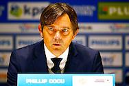 PSV - WILLEM II <br /> Philip Cocu tijdens de persconferentie