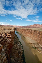 OCT 6, 2016: The Colorado River flows through the bottom of the canyon in Arizona, Richey Miller/CSM(Credit Image: © Richey Miller/Cal Sport Media)