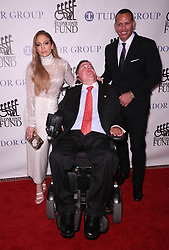 September 24, 2018 - New York City, New York, USA - Jennifer Lopez, Marc Buoniconti and Alex Rodriguez at the 33rd Annual Great Sports Legends Dinner To Benefit The Buniconti Fund to Cure Paralysis in New York City. (Credit Image: © Starmax/Newscom via ZUMA Press)