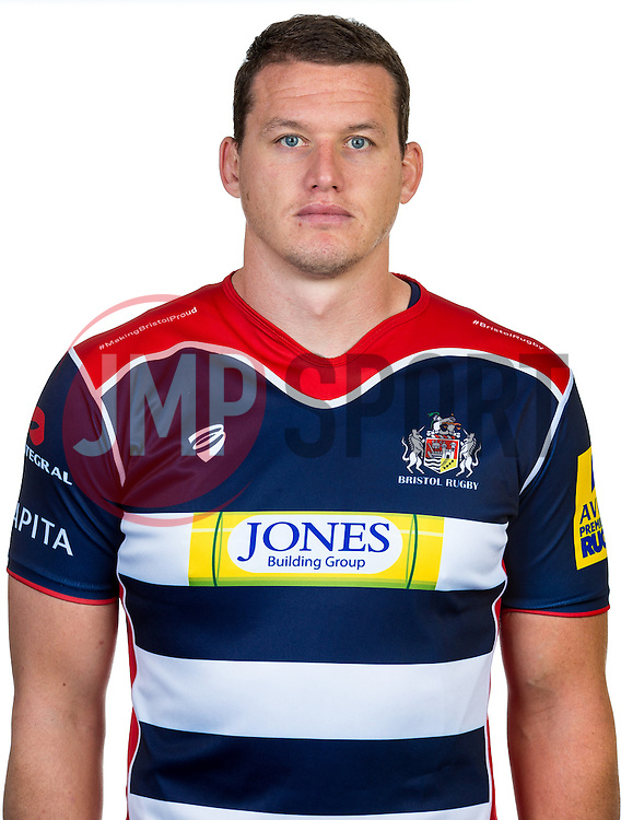 Ian Evans of Bristol Rugby - Rogan Thomson/JMP - 22/08/2016 - RUGBY UNION - Clifton Rugby Club - Bristol, England - Bristol Rugby Media Day 2016/17.