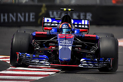 May 25, 2017 - Monaco, Monaco - 55 SAINZ Carlos from Spain of Toro Rosso STR12 team Toro Rosso during the Monaco Grand Prix of the FIA Formula 1 championship, at Monaco on 25th of 2017. (Credit Image: © Xavier Bonilla/NurPhoto via ZUMA Press)