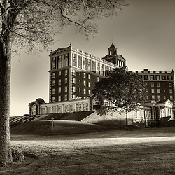 The iconic Cavalier Hotel on Virginia Beach, Virginia.
