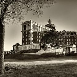 The iconic Cavalier Hotel on Virginia Beach, Virginia.
