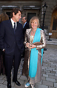 Bryan Ferry and Princess Dora Loewenstein, Around the World in One night, gala to raise money for the Royal Academy,   Royal Academy. 21 June 2004. ONE TIME USE ONLY - DO NOT ARCHIVE  © Copyright Photograph by Dafydd Jones 66 Stockwell Park Rd. London SW9 0DA Tel 020 7733 0108 www.dafjones.com