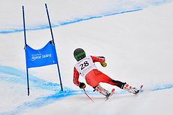 Downhill, GUIMOND Alexis, LW9-1, CAN at the WPAS_2019 Alpine Skiing World Championships, Kranjska Gora, Slovenia