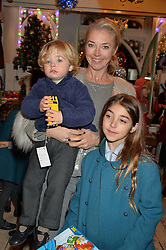 LONDON, ENGLAND 1 DECEMBER 2016: Tamara Beckwith, Violet Veroni, Vero Veroni at the 10th birthday party for the toy shop HoneyJam, 2 Blenheim Crescent, Notting Hill, London, England. 1 December 2016.