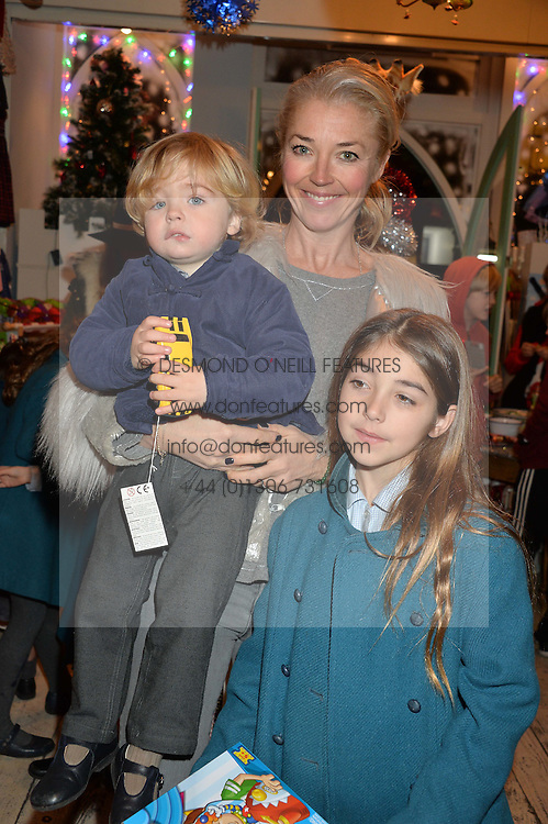 LONDON, ENGLAND 1 DECEMBER 2016: Tamara Beckwith, Violet Veroni, Vero Veroni at the 10th birthday party for the toy shop HoneyJam, 2 Blenheim Crescent, Notting Hill, London, England. 1 December 2016.