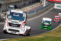 06.07.2013, Red Bull Ring, Spielberg, AUT, Truck Race Trophy, Renntag 1, im Bild Norbert Kiss, (HUN, Oxxo Energy Truck Race Team, #10, 2. Platz), Mika Maekinen, (FIN, Mika Maekinen, #7, 3. Platz) // during the Truck Race Trophy 2013 at the Red Bull Ring in Spielberg, Austria, 2013/07/06, EXPA Pictures © 2013, PhotoCredit: EXPA/ M.Kuhnke