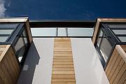 Detail of window bays & facade